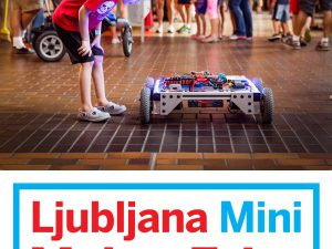 Ultrasonic at Mini Maker Faire Ljubljana